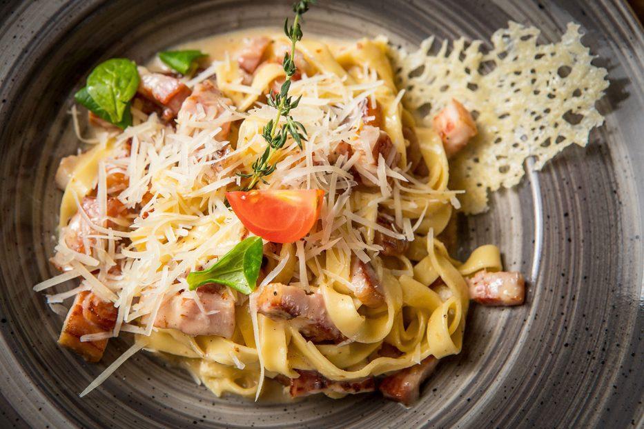 Паста Карбонара по оригинална Италианска рецепта